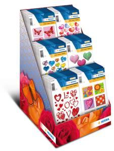 Bilde av Display Valentines, MAGIC Stickers, 8 motiver, 80